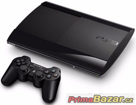 PS3 500 GB SLIM SONY - BAZAR - ZÁRUKA 6 MĚSÍCŮ