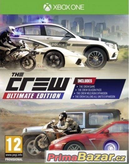 THE CREW : ULTIMATE EDITION - NOVÁ - XBOX ONE
