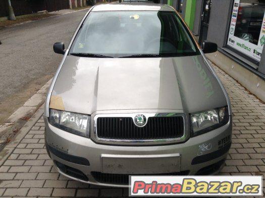 Prodám náhradní díly Škoda Fabia I kombi 1.2 12V