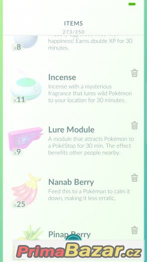 Pokemon go účet level 32