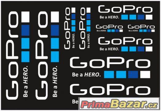 Prodám polepy značky GOPRO.