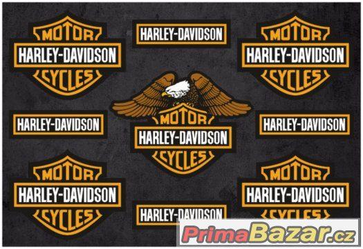 Prodám polepy značky HARLEY.