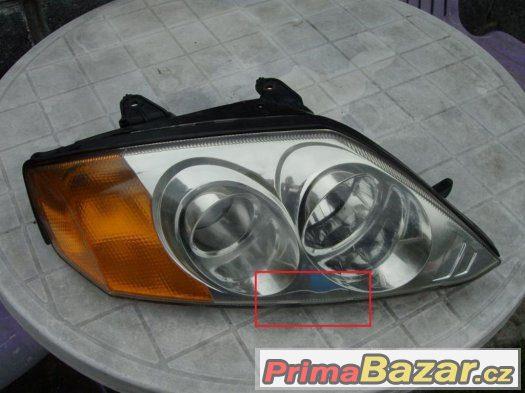 Pravé přední světlo Hyundai Coupe GK 2002-05