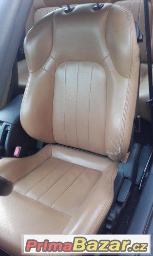 Hyundai Coupe GK - kožené vyhřívané sedačky