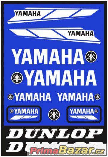 Prodám polepy značky YAMAHA/DUNLOP.