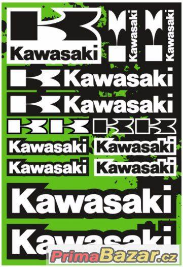 Prodám polepy značky KAWASAKI.