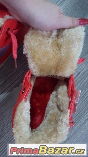 Zateplené nové zimní botky vel.31