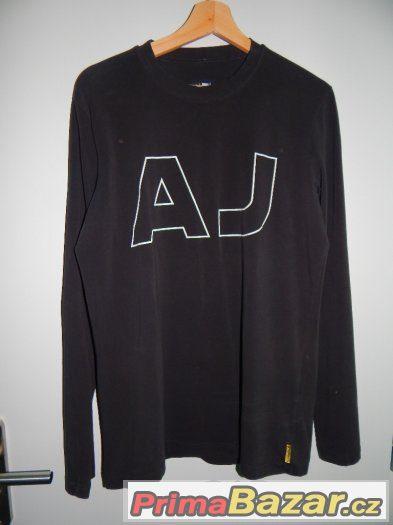 Tričko s dlouhým rukávem Armani Jeans