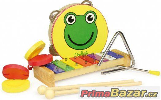 Dětská hudební sada Žabka