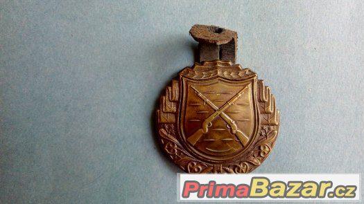 Československý výkonnostní odznak pro střelce z pušky