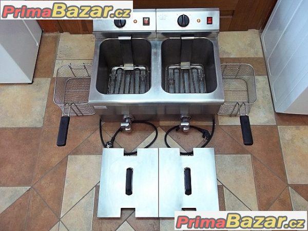 GASTRO PROFI fritéza elektrická dvojitá