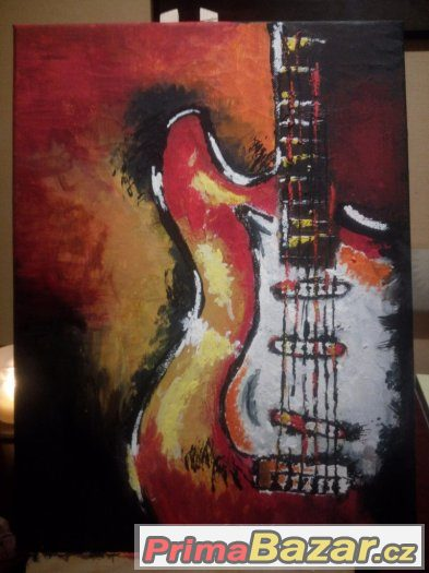 Obraz-kytara