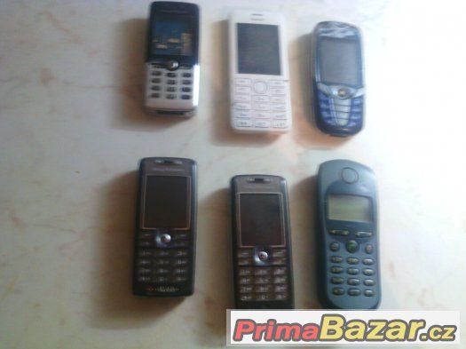 prodam bobilni telefony na dily nebo do sbirky