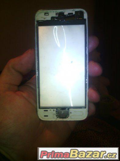 iphone 5s na dily bez displeje deska blokovana
