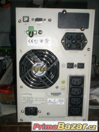 Záložní zdroj UPS Powerware 9120 1500VA, NOVÉ baterie 30Ah