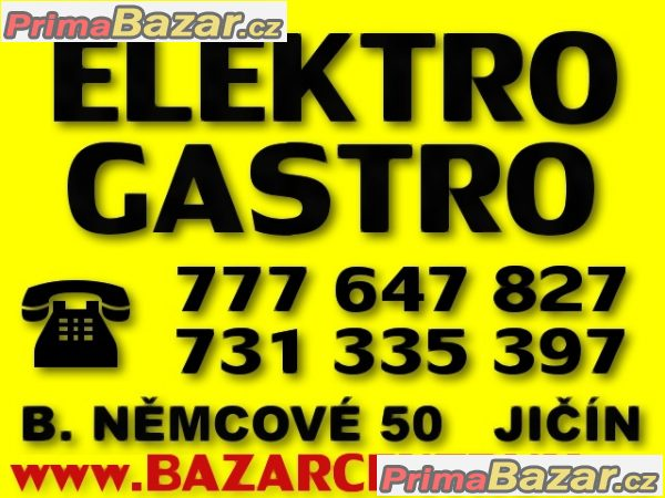 =BAZARCENTRUM= ELEKTRO GASTRO BAZAR JIČÍN: www.bazarcentrum.cz