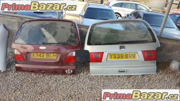 zadní páté dveře kompletní Seat Alhambra Ford Galaxy