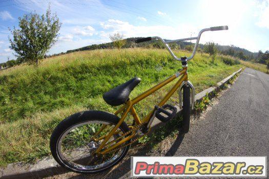BMX kolo skládané // Spěchá