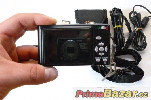 fotoaparát Panasonic DMC-FS3E-K, 8.1MP, 3x zoom