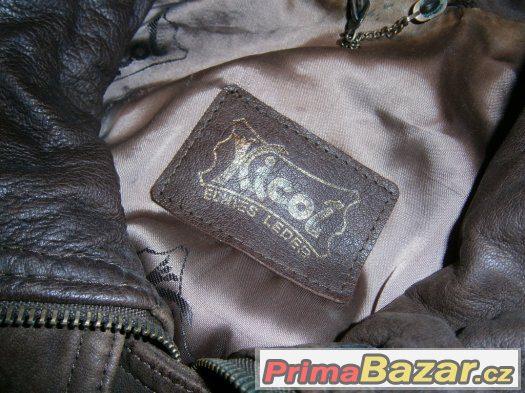 dámská kožená bunda/stav 100%/