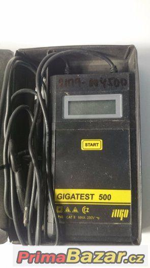 Měřič izolačního odporu ILLKO Gigatest 500