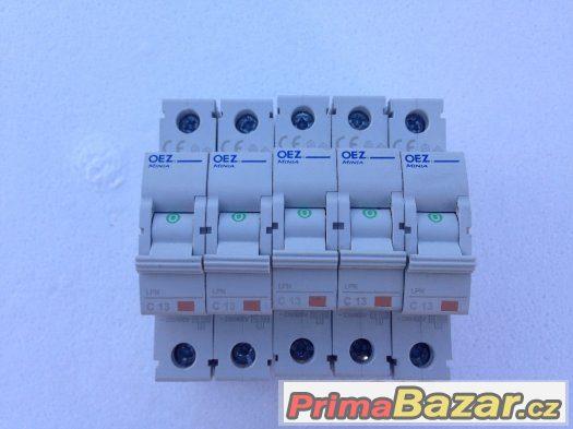 Jistič OEZ Minina C13 jednofázový LPN