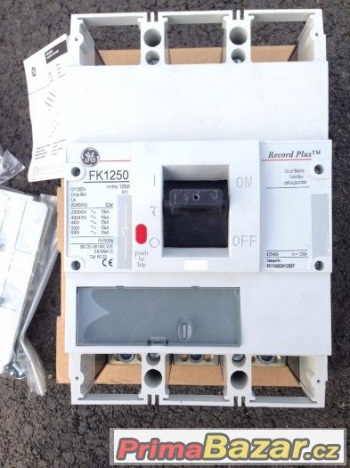 Průmyslový jistič GE Energy FK1250