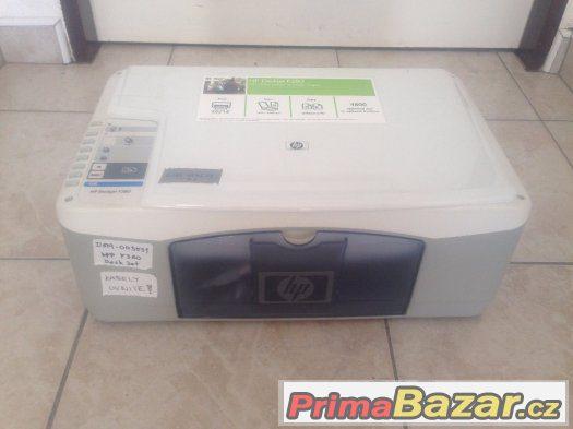 Tiskárna HP DeskJet F380 bez náplní