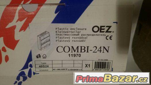 Nové nástěnné elektro rozvodnice / rozvaděč OEZ. Na 24 modul