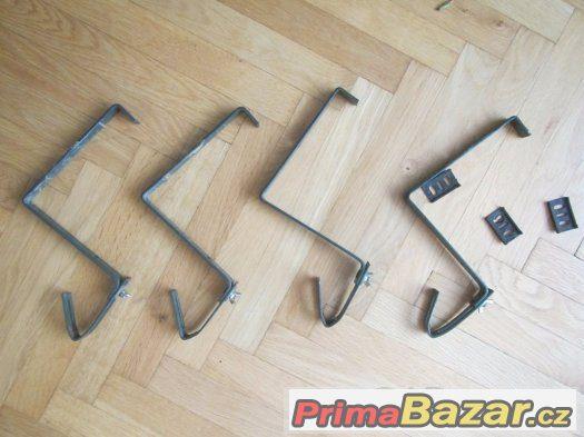 Držáky pro truhlíky kovové-4 KUSy