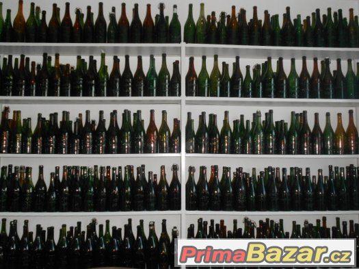 Koupím staré lahve od piva , sodovek a mléka