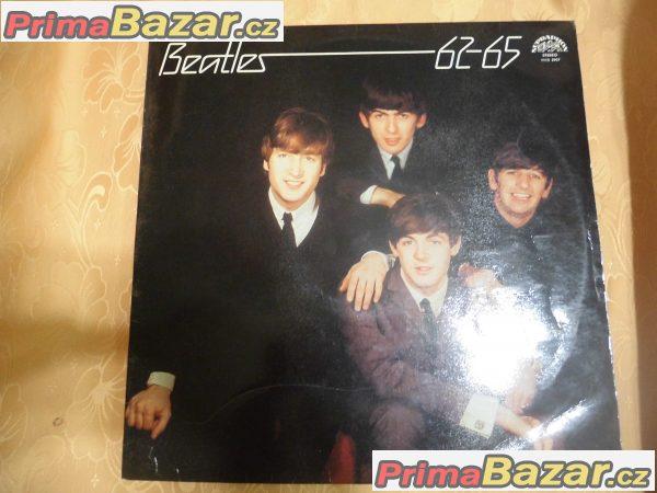 Gramofonová deska -Beatles 62-65
