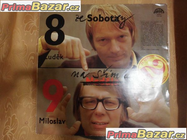Gramofonová deska-Šimek + Sobota