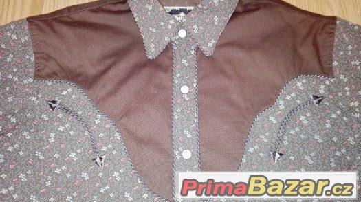 Prodám dámskou westernovou košili Stars and Stripes