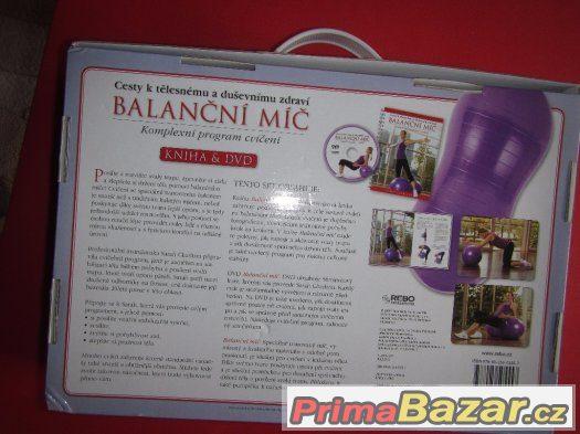 Balanční míč - Komplexní program cvičení + DVD-TOP STAV