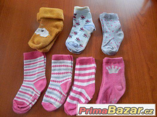 Ponožky sada vel.19-22