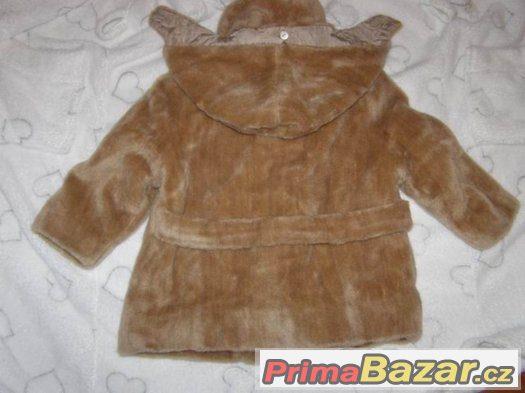 Retro - kabátek - kožíšek MAKYTA Půchov vel.92-98