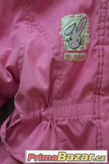 JARNÍ bundička pro holčičku 1-2 roky