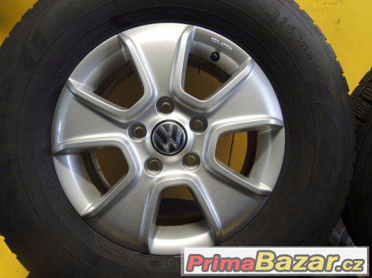 VW Amarok (2H0071496) 5x120 R16 zánovní zimní ALU sada