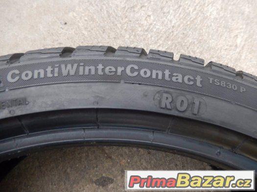 2x zánovní zimní Continental TS830P 245/35/19 93W