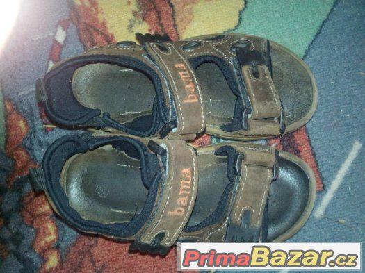 Sandále Bama velikost 31