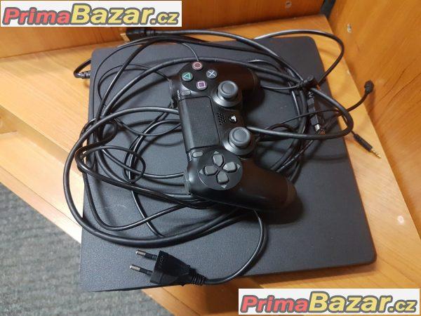 herní konzole SONY PlayStation 4 slim black 500gb bluetooth,wifi,hdmi,lan