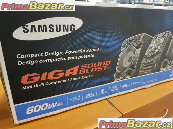 Nový hifi mini systém Samsung giga blast MX-J730