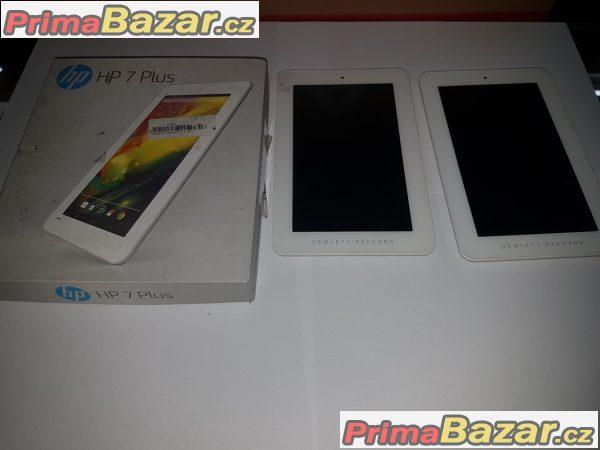 tablet Hp 7 plus procesor 4x1Ghz pamět 8gb