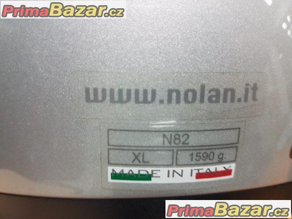 nová ,nepoužitá přilba Nolan N82 velikost xl 1590