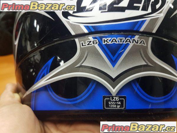 přilba na motorku Lazer lz6 kat