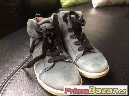 Kožené Ecco boty