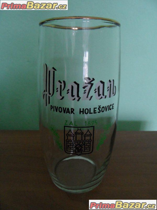 Koupím pivní sklo