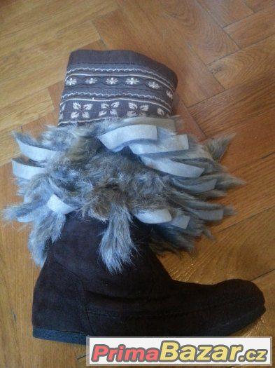 Nové dámské zimní boty