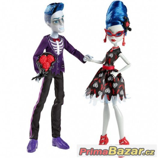 MONSTER HIGH 2pack SLO MO MORTAWICH+GHOULIA YELPS